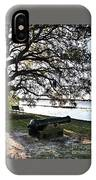Old Cannon By The Sea IPhone Case