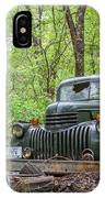 Old Chevy Oil Truck 1  IPhone Case