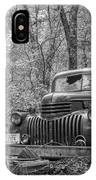 Old Chevy Oil Truck 2 IPhone Case
