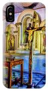 Old Church Altar IPhone Case