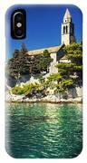 Old Church On Croatian Island IPhone Case