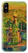 Old Church On The River IPhone Case