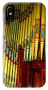 Old Church Organ IPhone Case