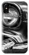 Old Classic Car In Black And White IPhone Case