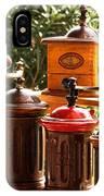 Old Coffee Grinders IPhone Case