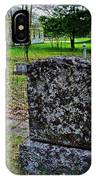 Old Country Cemetery IPhone Case