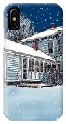 Old Country Home IPhone Case