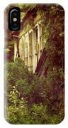 Old Country Schoolhouse. IPhone Case