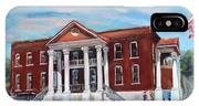 Old Courthouse In Ellijay Ga - Gilmer County Courthouse IPhone Case