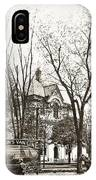 Old Courthouse Public Square Wilkes Barre Pa Late 1800s IPhone Case