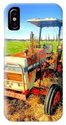Old David Brown Tractor  IPhone Case