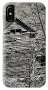 Old Deserted Farmhouse 3 IPhone Case