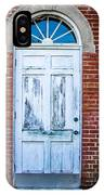 Old Door And Windows IPhone Case