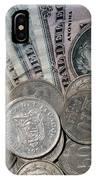 Old Ecuadorian Currency IPhone Case