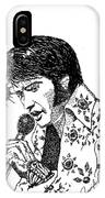 Old Elvis IPhone Case