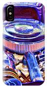 Old Engine Of American Car IPhone Case
