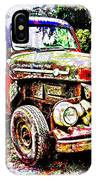 Old Farm Truck IPhone Case