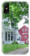 Old Farmhouse And Red Barn IPhone Case