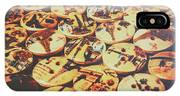 Old Fashion Landmark Buttons IPhone Case