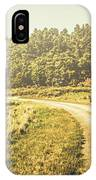 Old-fashioned Country Lane IPhone X Case