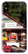 Old Fashioned General Store IPhone Case