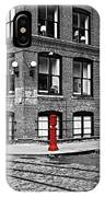 Old Fire Hydrant In Dumbo Brooklyn IPhone Case