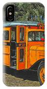 Old Ford School Bus No. 32 IPhone Case
