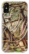 Old French Bicycles IPhone Case