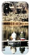 Old Friends Fishing IPhone Case