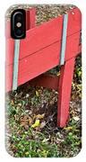 Old Garden Wheel Barrow IPhone Case