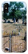 Old Grave Site 2 IPhone Case