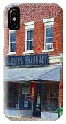 Old Guerins Pharmacy IPhone Case