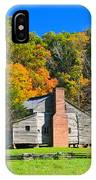 Old House In Cades Cove Tn IPhone Case