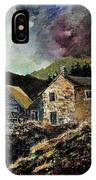 Old Houses 5648 IPhone Case