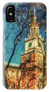 Old Independence Hall IPhone Case