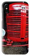 Old International Harvester Tractor IPhone Case