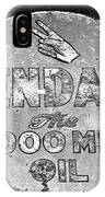 Old Kendal Sign IPhone Case