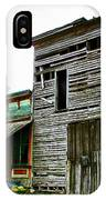 Old Leavenworth Indiana Ghost Town II IPhone Case