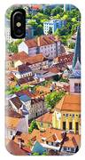 Old Ljubljana Cityscape Aerial View IPhone Case