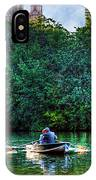 Old Love And Central Park Lake IPhone Case