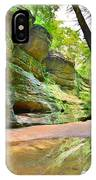 Old Man's Gorge Trail And Caves Hocking Hills Ohio IPhone Case