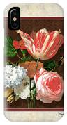 Old Masters Reimagined - Parrot Tulip IPhone Case
