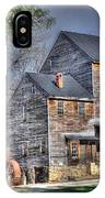 Old Mill Nelson County Virginia IPhone Case