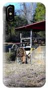 Old Mill Of Guilford Pumphouse IPhone Case