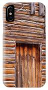 Old Mormon Barn IPhone Case