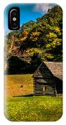 Old Mountain House IPhone Case