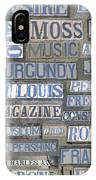 Old New Orleans Street Tiles IPhone Case