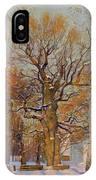 Old Oak-tree In Kolomenskoye IPhone Case