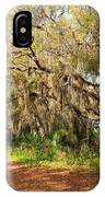 Old Oak Trees And Moss IPhone Case