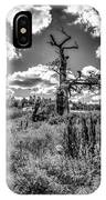 Old Oaks Bw.  IPhone Case